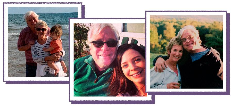Photo collage of Dr. Michael Levien